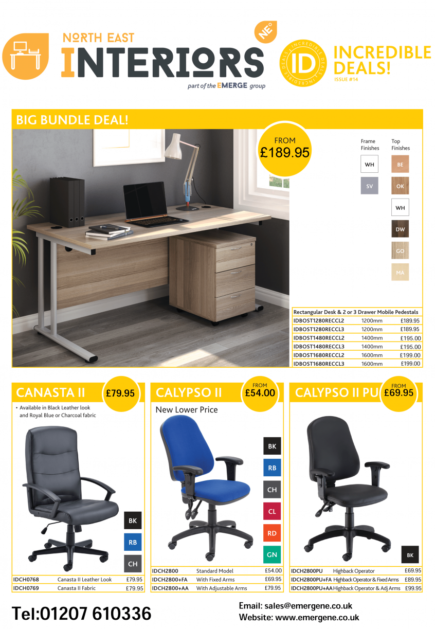 Q4 Incredible Deals Furniture Offer - Emerge North East