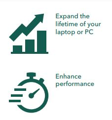 Benefits of using SSds - expand lifetime of pac and laptops, enhance perfomance